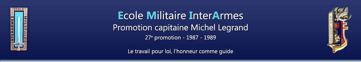 Promotion capitaine Legrand